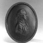 Oval Portrait Medallion of Dr. W. Herschel