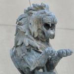 Lion, from the El Dorado Carousel, Coney Island, Brooklyn