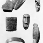 Block and Swivel Joint with incised designs