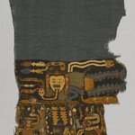 Textile Fragment, Unascertainable or Mantle?, Fragment