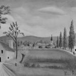 Village Landscape with Figures