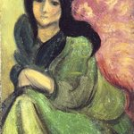 Woman in an Armchair (Femme au fauteuil)