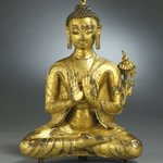 Seated Maitreya
