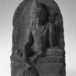 Stele with the Seated Figure of Avalokitesvara