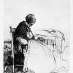 Marchande Endormie, (Sleeping Peddler Woman)
