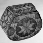 Rounded Box with eight pointed star pattern