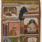 The Heroine Whose Desires are Apparent, Page from a Rasikapriya Series