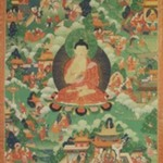 Buddha Surrounded with Scenes of his Life