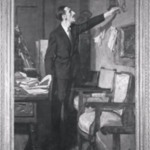 The Spanish Frame (Portrait of George Bosso)