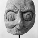 Head with Half Mask