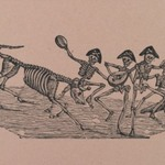 Skeleton Bull Fighters