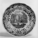 "Plate, ""Natural Bridge, Virginia"""