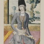 Seated Qajar Prince