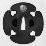 Tsuba (Sword Guard) in Tachi Style