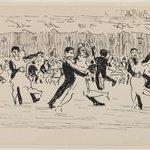 Ball Room Scene (Couples Dancing)