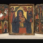 Painted Icon, Double Triptych