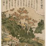 Asukayamano Sakurabana (Cherry Blossom Season at Mt. Asuka)
