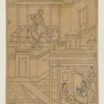 Krishna Serenades Radha