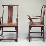 Yokeback Armchair, One of Pair