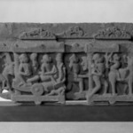 Fragment of a Relief Frieze from Exterior Wall of a Temple