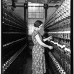 [Untitled]  (Women in Bobbin Aisle)