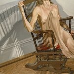Female Model on Platform Rocker