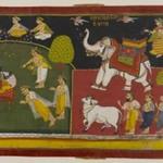 Unidentified Scene, Aurangabad School