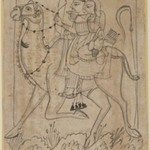 Maru Ragini (Dhola and Maru riding on a Camel)