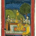 Mandalika Ragini, Page from a Dispersed Ragamala Series