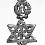 Pendant in form of Star of David