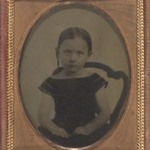 [Untitled] (Portrait of Miss Alice M. Beckwith, 5 Years Old)