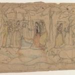 Krishna and Balarama Exact a Toll, Scene from a Bhagavata Purana Series