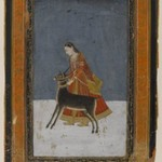 Lady with a Black Buck