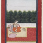 Dhanashri Ragini, Page from a Ragamala Series