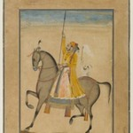 Equestrian Portrait of Maharaja Sujan Singh of Bikaner