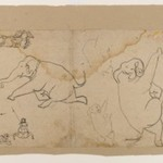 Preliminary Sketch of an Elephant Hunt