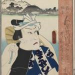 Kunisada (Toyokuni III), Kabuki Actor