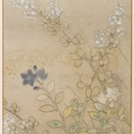 Bush Clover and Chinese Bell Flowers, Album Leaf Painting