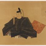 One of the Sanjurokkasen, Album Leaf Painting