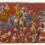 Battle Scene from a Bhagavata Purana Series