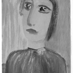 [Untitled] (Bust-length Portrait of a Woman)
