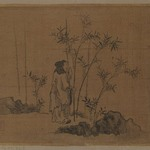 Album Leaf Painting: Scholar and Bamboo
