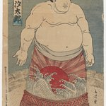 Portrait of a Sumo Wrestler