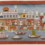 Page from a Bhagavata Purana Series