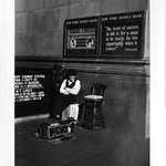 Shoeshine man, New York City