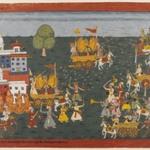 Folio from a Bhagavata Purana Series