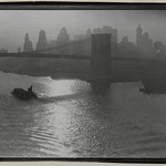 [Untitled] (Tug and Barge, East River)