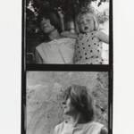 [Untitled] (Woman with Young Girl) (top exposure)  [Untitled] Portrait of a Woman) (bottom exposure)