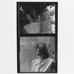 [Untitled] (Woman with Young Girl) (top exposure)  [Untitled] (Portrait of a Woman) (bottom exposure)