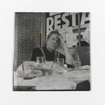 [Untitled] (Woman Seated at Restuarant)